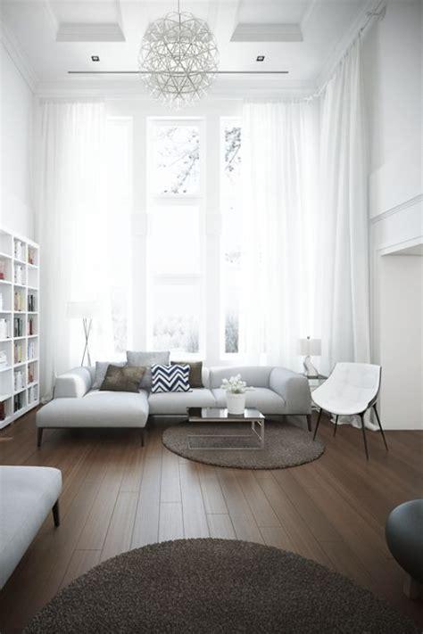 gordijnen mooi wit krijgen raamdecoratie voor hoge ramen homease