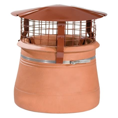 Fireplace Cowls brewer birdguard chimney cowl terracotta