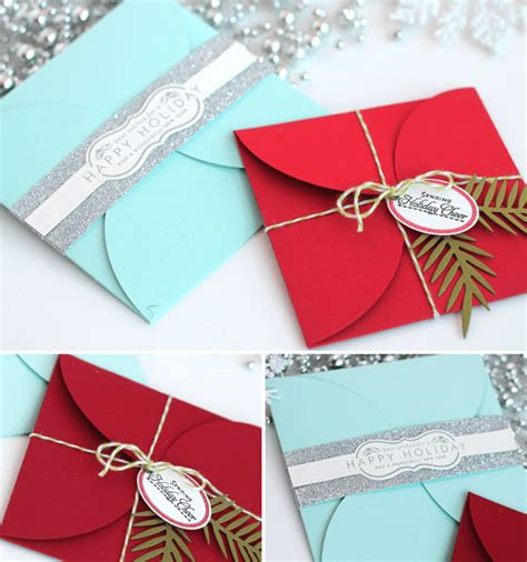 Handmade Envelope Decoration - how to diy petal envelopes damask