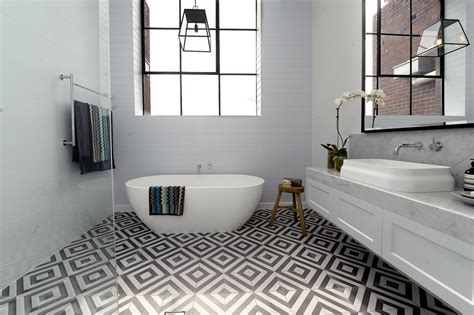 bathroom with shower and toilet design feature royale feature floor tiles 2017 hot trend best adelaide tilers