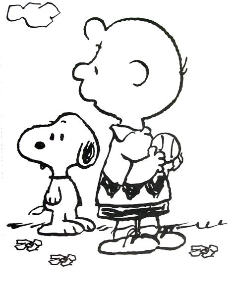 Printable Coloring Pages Of Snoopy