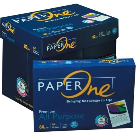 Paper One A4 80gr a4 copy paper one 80gsm from pt jaya stationery b2b marketplace portal indonesia product