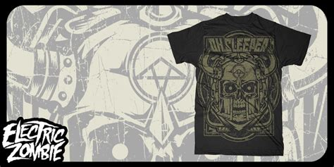 Oh Sleeper T Shirt by Oh Sleeper Executioner T Shirt Design By Kyle Mintees