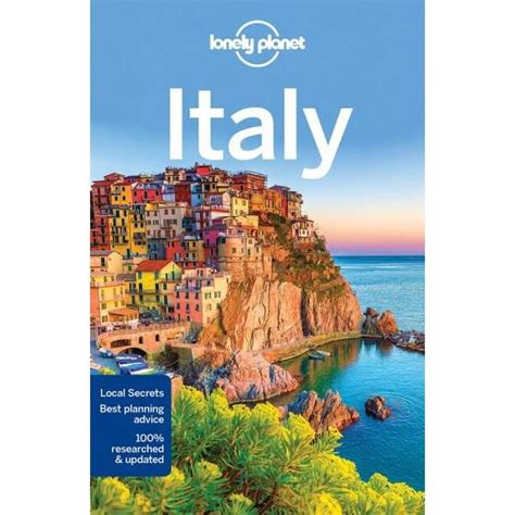 Lonely Planet Italy Lonely Planet Travel Guide By Lonely