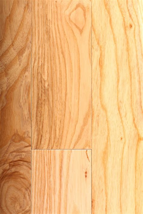"""3/4"""" x 3 1/4"""" Ash Natural Prefinished Solid Wood Flooring"""