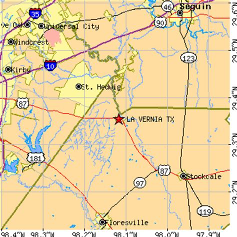 map of la vernia texas la vernia texas tx population data races housing economy