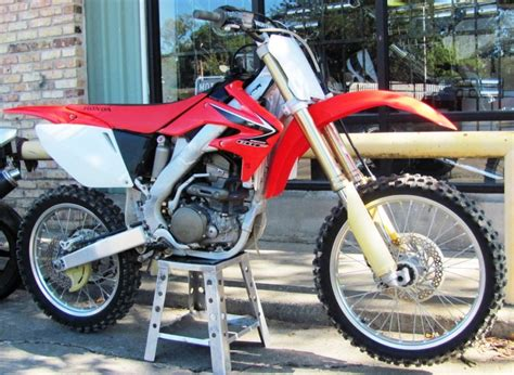 a motocross bike road 2008 honda crf250r used motocross road motorcycle
