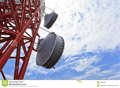 microwave antenna stock images image 34899754
