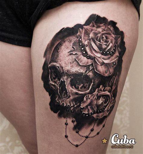 skull n rose tattoo one hundred wonderful skull styles design trends