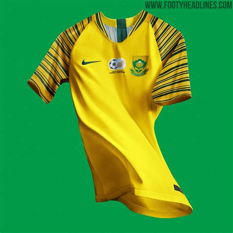 unique nike south africa  home  kits released footy headlines