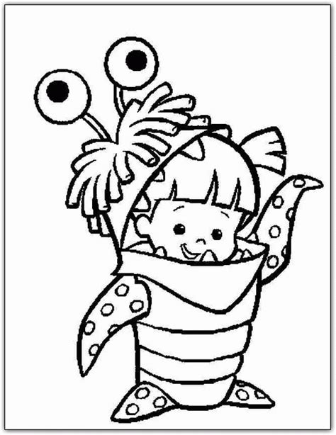 Monsters Inc Coloring Pages monsters inc coloring pages coloringpagesabc