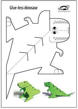 printable art activities for toddlers glue lee printable dinosaur งานประด ษฐ pinterest