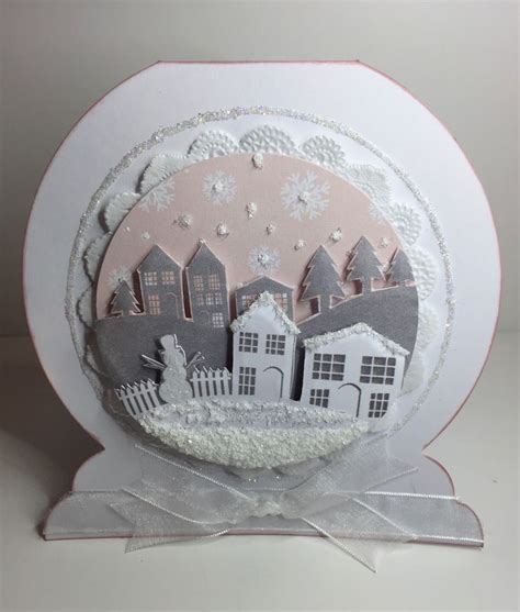 Snow Globe Handmade - 11 best snowglobe cards images on