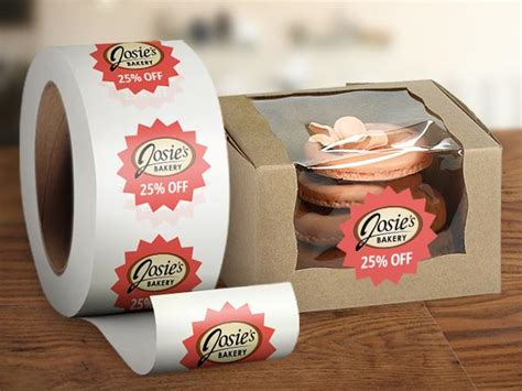 design label roll food restaurants