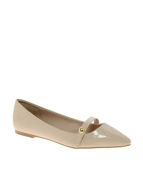 carvela flat shoes carvela kurt geiger hanny pointed flat shoes in