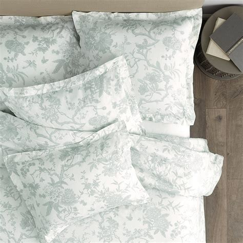 ballard design bedding jardin toile duvet gray ballard designs