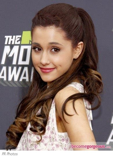how to do ariana grande high ponytail hairstyles pictures 2013 mtv movie awards hairstyles ariana