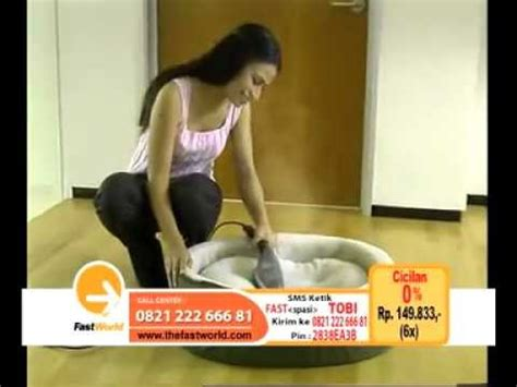setrika uap tobi steam wand by fastworld drtv indonesia