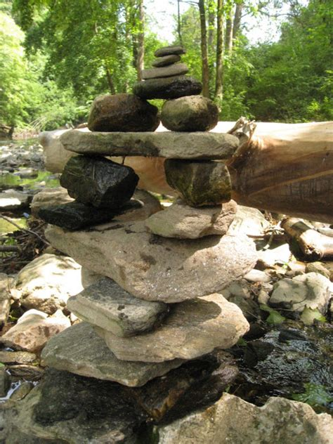 she moves the furniture cairns lovely piles of rocks