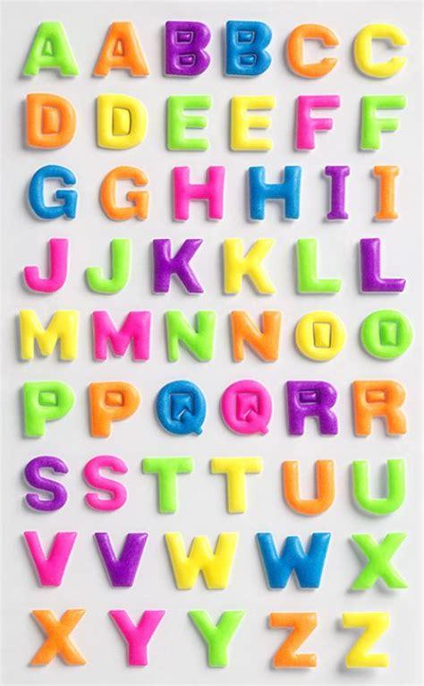 Sticker Einzelne Buchstaben by Creative Sticker Buchstaben Bunt