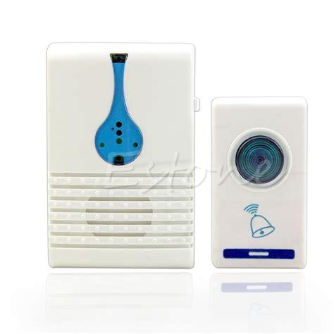 Tune Bell 100m range home 32 tune songs wireless chime doorbell door bell remote in doorbells from