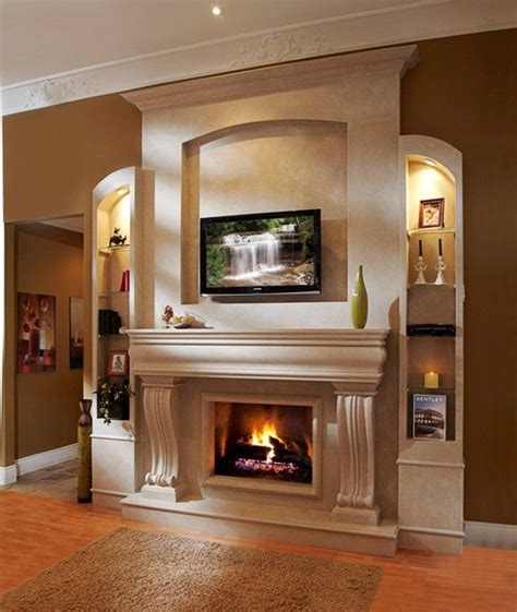 Omega Fireplace Mantel Of Stone San Francisco