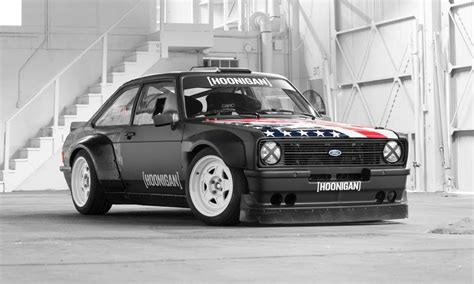 hoonigan truck 1978 ford escort mk2 rs is ken block s new gymkhana