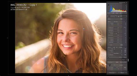 Lightroom Tutorial For Portrait | how to improve backlit portraits in lightroom lensvid