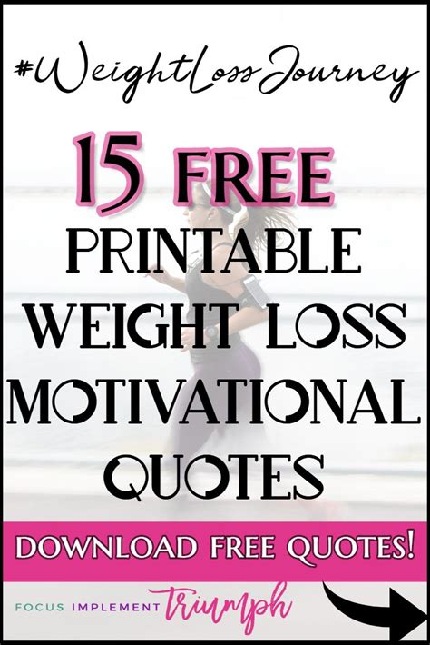 printable exercise quotes 185 best focus implement triumph blog images on pinterest