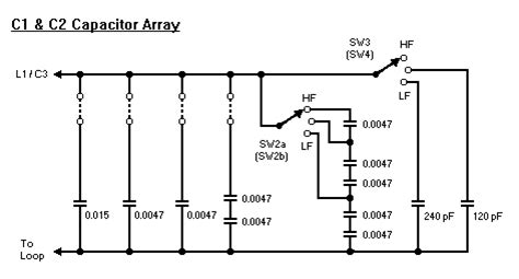 capacitor array uses loop antenna tuning unit gw4alg i1wqrlinkradio