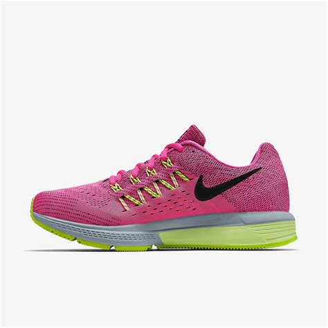 nike womens air zoom vomero 10 running shoes pink pow