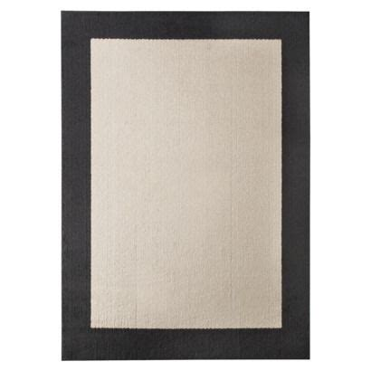 white rug with black border black area rug with white border black and white hooked rug black area rug with white