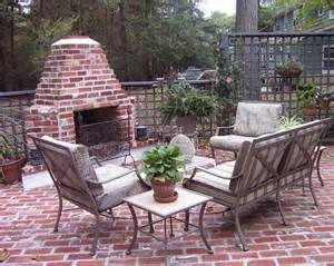 small outdoor fireplace ideas vintage brick small and simple design for patio brick
