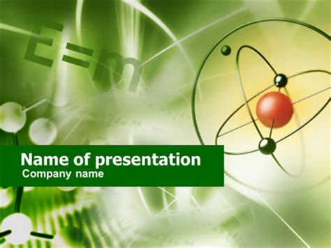 basic physics powerpoint template backgrounds 00564