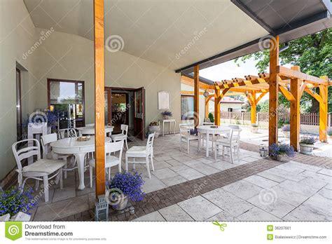 veranda mediterran mediterranean interior veranda stock image image 36207661