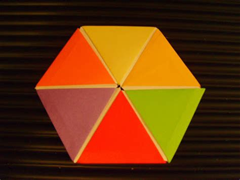 Origami Geometric Figures - origami of geometric figures origami of hexagon