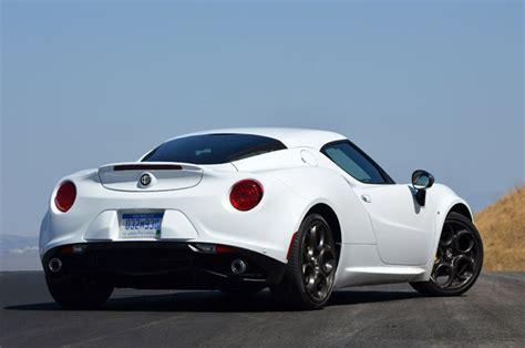 will the 2015 alfa romeo 4c specs all wheel drive
