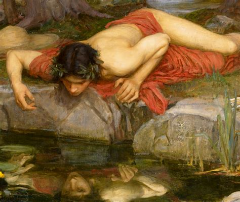Narcissus Painting gods and foolish grandeur narcissus is more than a flower