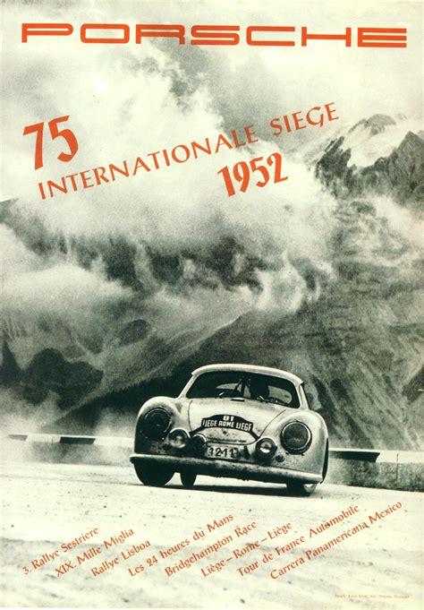 Pelican Parts Vintage Porsche Racing Posters