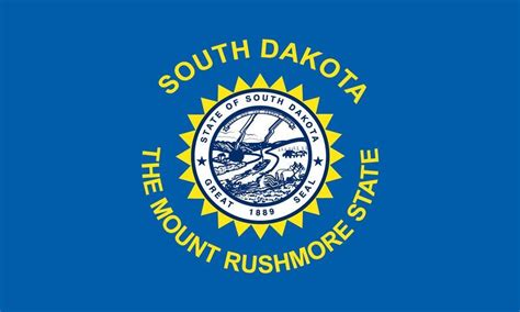 south flag colors south dakota state flag coloring pages states south