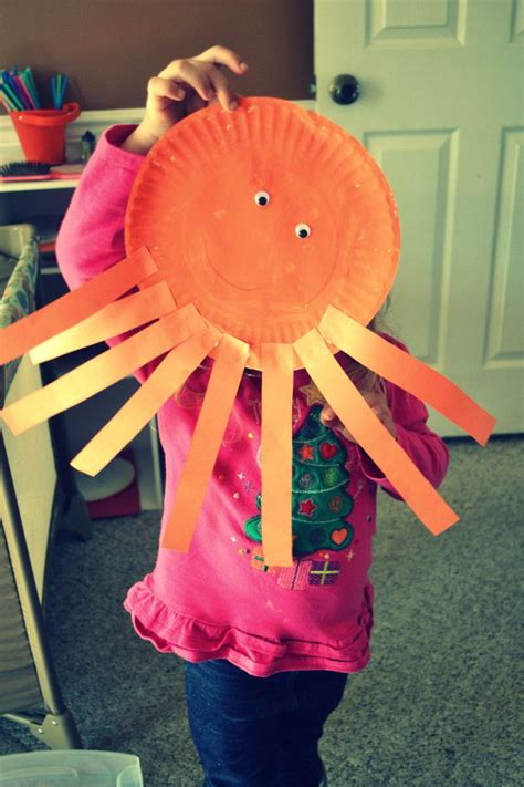 Paper Plate Octopus Craft - discover and save creative ideas