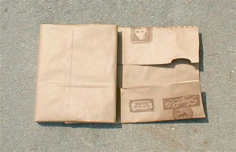 A Book Cover Out Of A Paper Bag - how to make a book cover with a paper bag