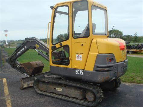 volvo ec35 mini excavator from united kingdom for sale at