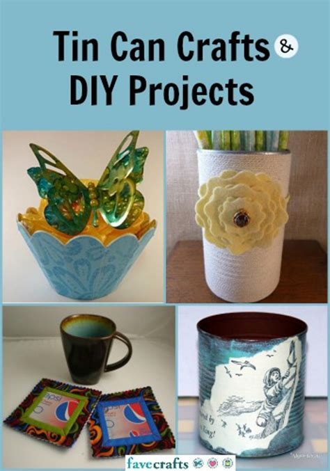 tin can crafts projects 14 tin can crafts and diy projects favecrafts