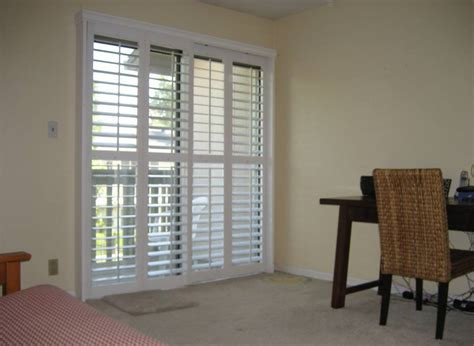 sliding patio door shutters sliding patio door shutters shutters on sliding patio