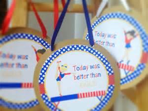 Gymnastics Birthday Favors by Items Similar To Gymnastics Birthday Favors