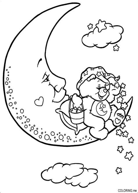 moon bear coloring pages free coloring pages of earth sun moon