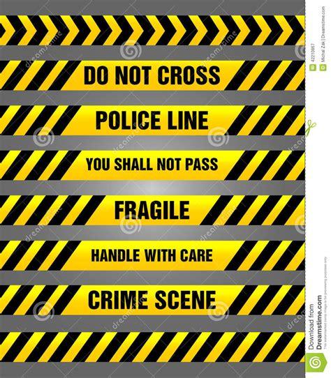yellow warning pattern caution tapes yellow and black warning pattern stock