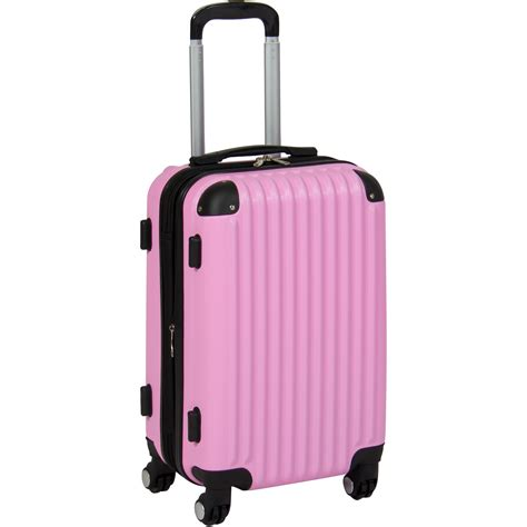 bcp 20 quot hardshell spinner expandable carry on luggage
