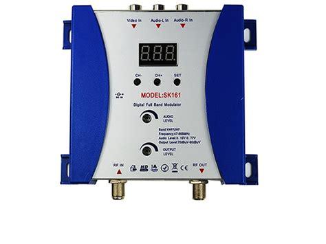 Modulator Tv Kabel Digital satking rf modulator sk 161